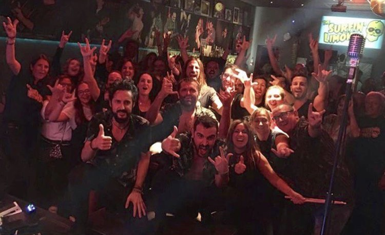 "Live in La Movida Palma gira ""Apolo Tour"" 2017"