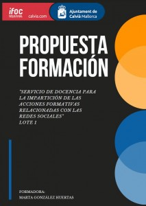 PROPUESTA FORMATIVA IFOC 2019
